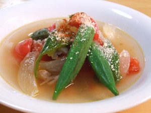 夏野菜 スープ レシピ